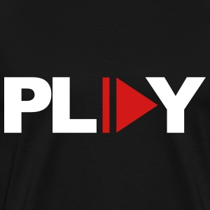 Black Play T-Shirts - Men's Premium T-Shirt