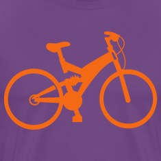 Purple bicycle T-Shirts