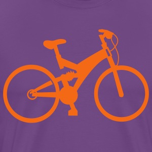 Purple bicycle T-Shirts - Men's Premium T-Shirt