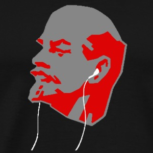 Revolutionize! Lenin and iPod - Men's Premium T-Shirt
