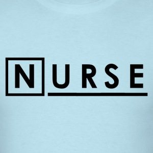 Nurse Shirt - Sky blue House Nurse T-Shirts - Men's T-Shirt