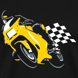 Ducati Classic Supersport Tee yellow - Men's Premium T-Shirt
