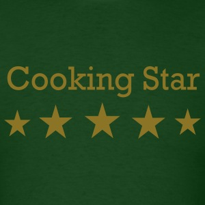 Forest green Cooking Star T-Shirts - Men's T-Shirt