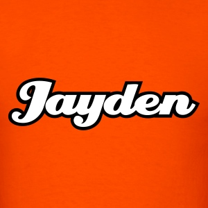 Orange jayden T-Shirts - Men's T-Shirt