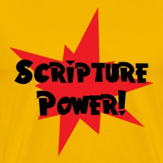 Yellow Scripture Power T-Shirts