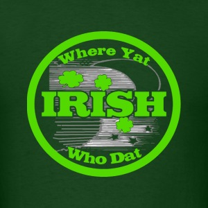 Irish new Orleans - Men's T-Shirt