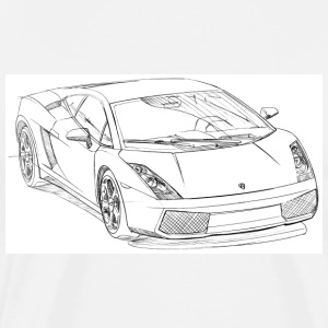 White lambo_gallrdo_ T-Shirts - Men's Premium T-Shirt