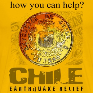 Help Chile Earthquake relief - Men's Premium T-Shirt