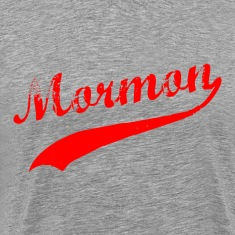 Heather grey Mormon T-Shirts