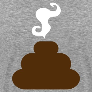 Ash  turd poo steaming pile of crap T-Shirts - Men's Premium T-Shirt