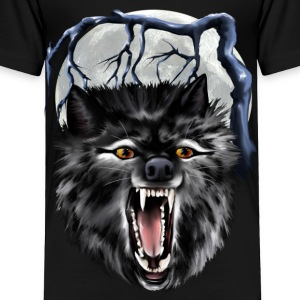 Big Bad Wolf - Toddler Premium T-Shirt