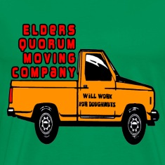 Sage Elders Quorum Moving Company LDS Mormon T-Shirts