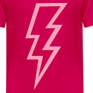 Hot pink Flash Kids' Shirts - Kids' Premium T-Shirt