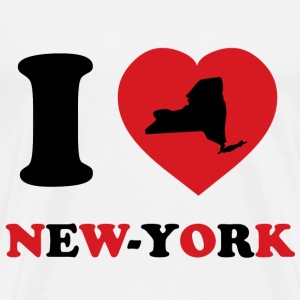 I Love New-York - Men's Premium T-Shirt