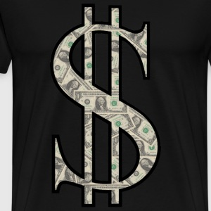 dollar man - Men's Premium T-Shirt