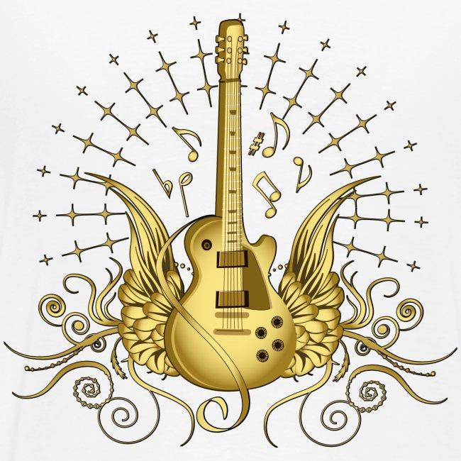 His Crew Golden guitar
