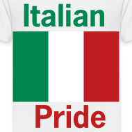 Design ~ Toddler Italian Pride, White