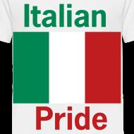 Design ~ Toddler Italian Pride, White