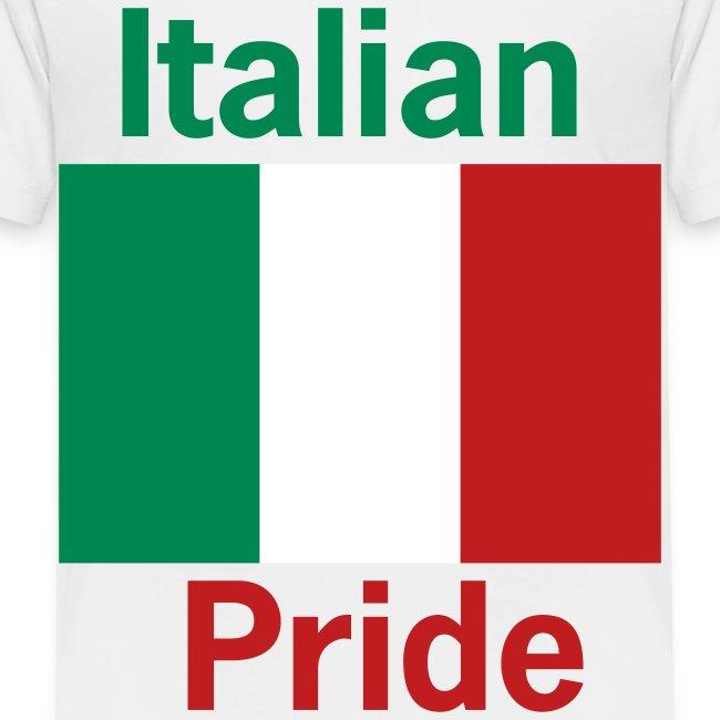 Toddler Italian Pride, White