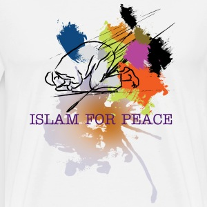 Islam for Peace Tshirt - Men's Premium T-Shirt
