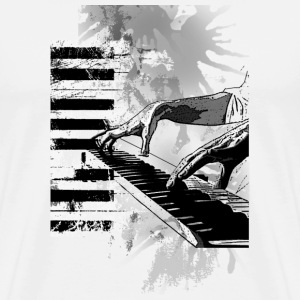 Piano Tshirt - Men's Premium T-Shirt