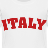 Design ~ Toddler Italy, Red on White