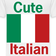 Design ~ Toddler Cute Italian, White