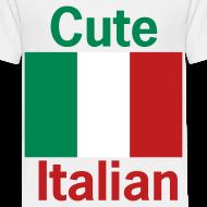 Design ~ Toddler Cute Italian, White