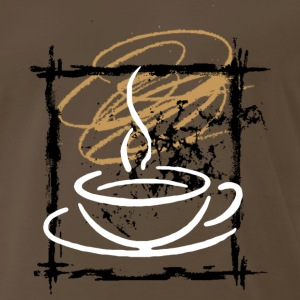 Coffee Addict T-Shirt - Men's Premium T-Shirt