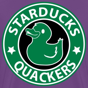 Purple starducks quackers T-Shirts - Men's Premium T-Shirt