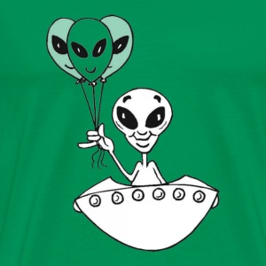 Alien Balloons - Men's Premium T-Shirt