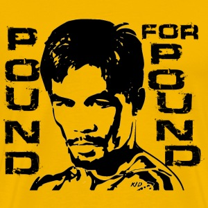 Pacquiao Pound for Pound - Men's Premium T-Shirt