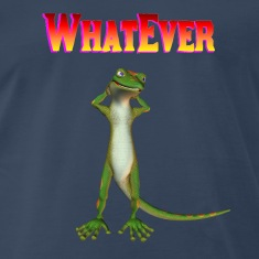 Navy WhatEver gecko T-Shirts