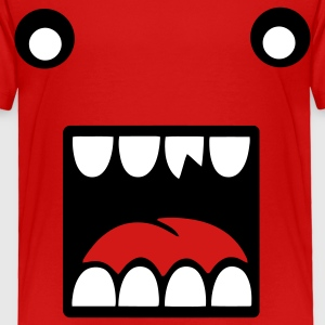 Red monsterface Toddler Shirts - Toddler Premium T-Shirt