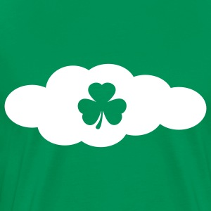 Kelly green irish could T-Shirts - Men's Premium T-Shirt