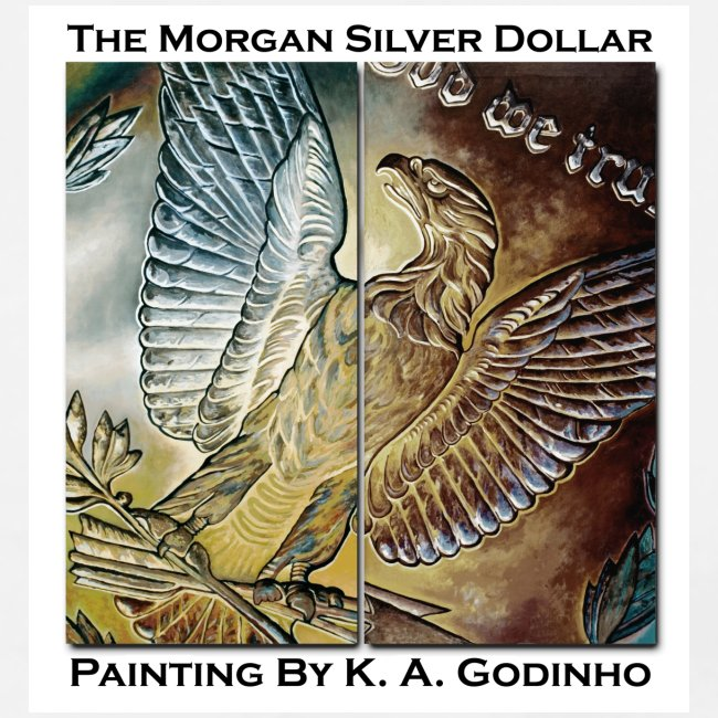 Morgan Silver Dollar Reverse Men's T-Shirt
