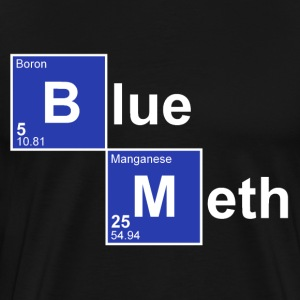 Black Blue Meth T-Shirts - Men's Premium T-Shirt