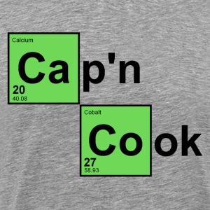 Heather grey Captain Cook T-Shirts - Men's Premium T-Shirt