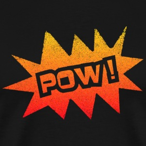 Black POW T-Shirts - Men's Premium T-Shirt