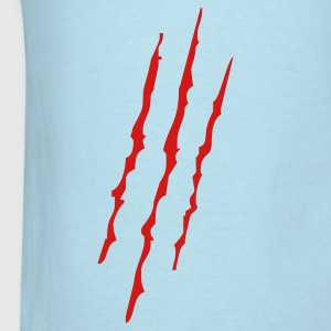 Sky blue Scratches T-Shirts - Men's T-Shirt
