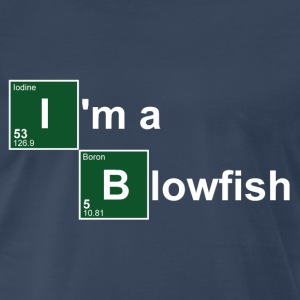 Navy I'm a Blowfish T-Shirts - Men's Premium T-Shirt