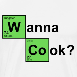 Natural Wanna Cook T-Shirts - Men's Premium T-Shirt