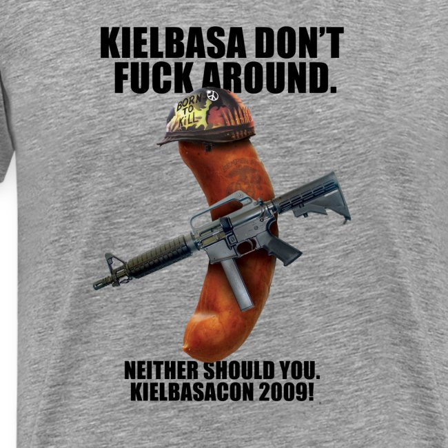 [R Rated] KielbasaCon 2009 Shirt : Men