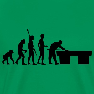 Sage evolution_billard_us T-Shirts - Men's Premium T-Shirt