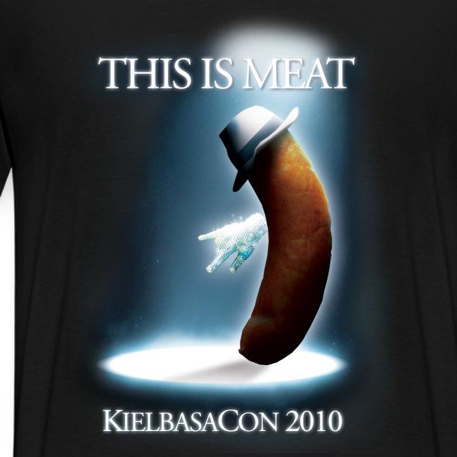 KielbasaCon 2010 Ultimate Shirt : Men (Graphic on back)