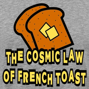 Heather grey Ghost Whisperer French Toast T-Shirts - Men's Premium T-Shirt