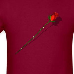 Rose and Shadow - Men's T-Shirt