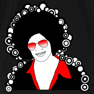 red afro disco man - Men's Premium T-Shirt