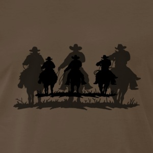 Cowboy black shadow - Men's Premium T-Shirt