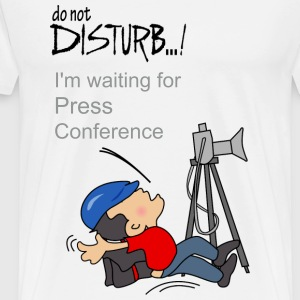 Press conference - Men's Premium T-Shirt